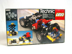 Lego Car Chassis 8860 With Flat 4 Engine Vintage 1980s Original New