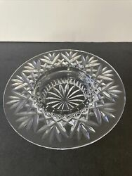 Waterford Crystal Bethany Pillar Candle Holder Or Wine Bottle Coaster 8