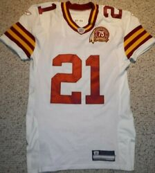 Washington Redskins Sean Taylor Authentic Game Cut Throwback Jersey 2007 Size 50