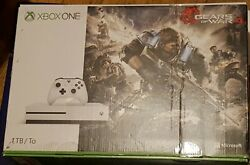 Xbox One S Gears Of War 4 Bundle 1tb Console System