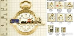 Pocket Watch And Timepiece Fobs Various Designs And Keychain Options