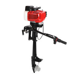 2 Stroke 3.6hp Outboard Motor Stainless Steel Air Cooling Technology R7-1/4x5-a