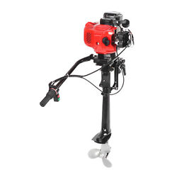 2 Stroke 3.6hp Outboard Motor Boat Accessory Air Cooling Technology R7-1/4x5-ain
