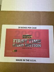 2020 Super Break First Time Card Edition Sealed Case Of 20 Boxes In Stock