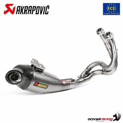 Akrapovic Full Exhaust System Approved Titanium For Kawasaki Versys 650 2017