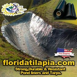 Pond Liner 30x34 Resistant,no Underlay Needed,commercial, Hdrpe Fe3