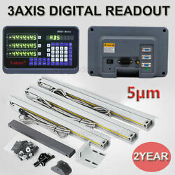 3axis 2axis Digital Readout Dro For Milling Lathe Machine With Procision Linear