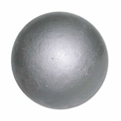 12lb Nelco Track And Amp Field Shot Put Metal Ball For Sport Competition Cast Iron