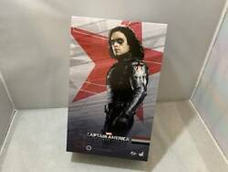 Hot Toys Captain America - Winter Soldier Sixth Scale Figure - Mms241 New Fs