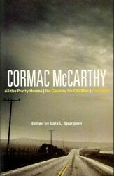 Cormac Mccarthy All The Pretty Horses No Country For Old Men The Road Pa...