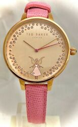 Ted Baker Ladies Kate Leather Strap Watch TE50005003 OS TBNP $73.65