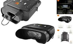 100v Widescreen Digital Night Vision Infrared Binocular With Zoom 3x20