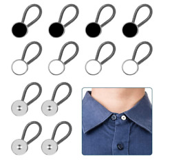 12pcs, Collar Extenders, Comfy Premium Invisible Neck Extender, 1 In Inst Adds