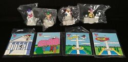 Capitol Critters - Burger King Kids Club Toys - Complete Set - Sealed - 1992