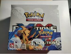 Pokemon Tcg Xy Evolutions Sealed Booster Box - Pack Of 36 100 Real