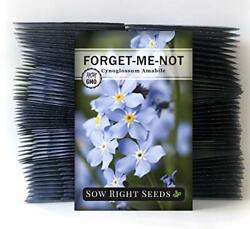 Sow Right Seeds - Forget-me-not Seed Packets To Plant Cynoglossum Amabile - F...