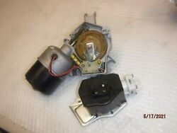 New Blem Wiper Motor And Pump 68-83 Gm Cars 2-speed W/ Recess Chevelle El Camino