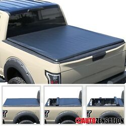 For 1997-2004 Ford F150 6.5ft 6and0396 78 Short Bed Soft Roll Up Tonneau Cover