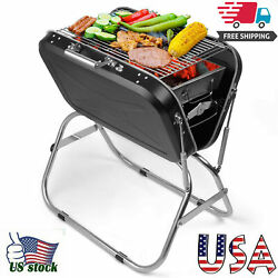 Portable Grill Folding Barbecue Grill Outdoor Cooking Grills For Camping