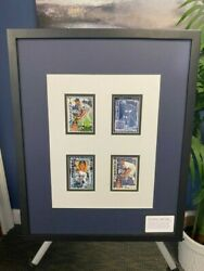 Topps Project 2020 Fine Art Card Display 4 Limited Edition Don Mattingly Prints