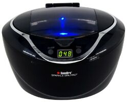 New Gemoro 25 Ounce Sparkle Spa Pro Ultrasonic Jewelry Cleaner