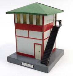 Used American Flyer 593 Signal Tower No Box