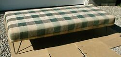 Vintage Retro Day Bed By Burton-dixie Corp. Chicago Ill. All Original