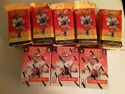 2021 Score Nfl Football Lot 25 Cello Packs And 3 Blasters Trevor Lawrence