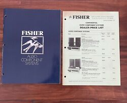 Fisher Audio Component Systems Catalog And 1977 Fisher Dealer Price List