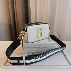 MARC JACOBS the Logo Strap Snapshot NEW MULTI Small Camera Bag 100% AUTHEN