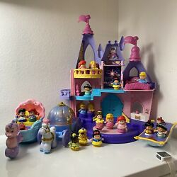 Fisher Price Little People Disney Princess Songs Castle Tons Of Extras Works