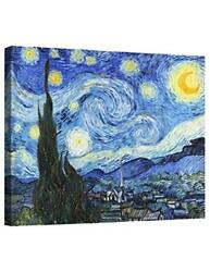 Eliteart- Starry Night By Vincent Van Gogh Oil Assorted Sizes , Colors