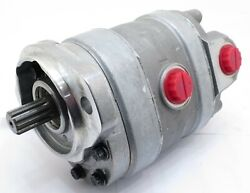 New Tandem Hydraulic Pump Fits Bobcat 843 With S/n 503760001 And Above