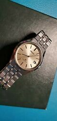 Vintage Grand Seiko Gs Ref.9587-8000 Champagne Silver Dial Classical Watch