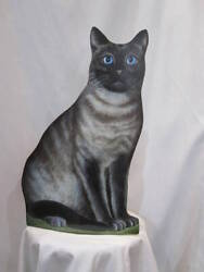 Piero Fornasetti Cat Umbrella Stand Dust Box Limited Edition 95 Vintage Italy