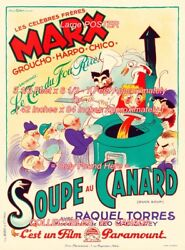 Duck Soup 1933 Marx Bros. Canard = Poster Very Large 3 1/2 X 6 1/2 - 7 Feet Long