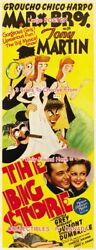 The Big Store 1941 Marx Bros. Virginia Grey = Poster 3 Sizes 6ft / 9ft / 10.5ft