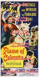 Flame Of Calcutta 1953 Denise Darcel Horse Asia = Poster 3 Sizes 4ft / 6ft / 7ft