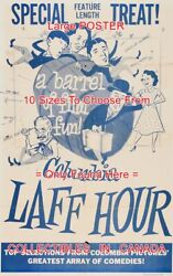 Columbia Laff Hour 1956 Three Stooges Barrel = Movie Poster 10 Sizes 17-4.5 Ft
