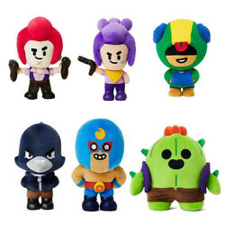 Games Brawl Stars X Line Friends Plush Toy Doll Christmas Gifts Limited Edition