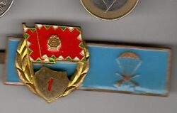 Hungary Post Wwii Airborne Wings Medal Hungarian Obsolete Parachute Jump Badge