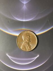 Lincoln Wheat Cent 1958d Penny Rare Beautiful Condition