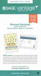 Discover Sociology Core Concepts - Vantage Shipped Access Card Hardcover B...