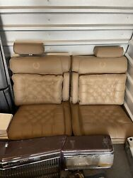 Cadillac Fleetwood Brougham Front And Rear Seats