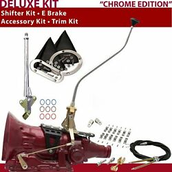 4l60e Shifter Kit 23 Swan E Brake Cable Clamp Clevis Trim Kit For D2805