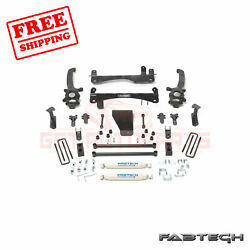 Fabtech 6 Basic Syst W/ Rear Shocks For Nissan Frontier 2wd/4wd 06-15