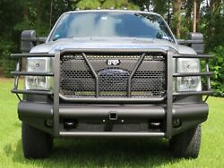 New Ranch Style Front Bumper 11 - 16 Ford F250 F350 Super Duty Smooth Plate