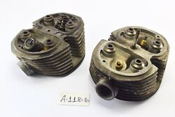 Bmw R 65 248 Bj 1978 - 19879 - Cylinder Head Right + Left A118g