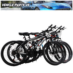 Adult Mountain Bike 21 Speeds 26 Inch Wheels Multiple Colors For Men And Women