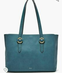 Relic by Fossil Joni Double Shoulder Tote Bag Color Teal MSRP $68 NWT
